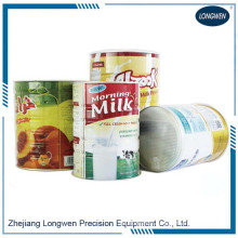 Automatic 3 piece tin can milk powder can body production line