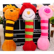 Diversos brinquedos da peluche do animal de estimação para o cão
