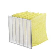 Factory Price Custom F5 F6 F7 F8 Aluminium Frame Pocket Air Filter Bag