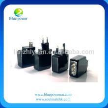 4 puertos portátiles cargador de pared USB con extraíble UK + EU + USPlug viaje adaptador de corriente para el iPhone 6
