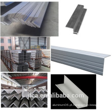 Ângulo industrial de alumínio da série 6000, extrusão de alumínio