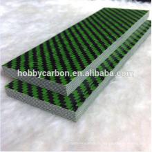 Plaque cprf épaisse de couleur verte en Kevlar