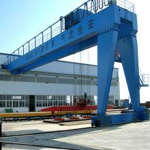 Grue semi-portique avec palan électrique de levage 25 tonnes