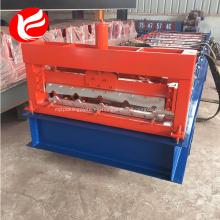 Máquina formadora de láminas de techo de acero color hoja
