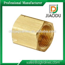 "JD-H101 1/4"" brass forged nut"