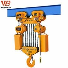 Soulevez les outils des chantiers, bloc de chaîne électrique 500kg avec interrupteur électrique