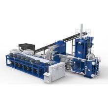 Horizontale Stahlspäne-Metallrecycling-Brikettierungsmaschine