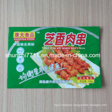 Back Center Sealed Food Packaging Bag