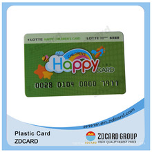 Pop up Plastic Card