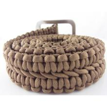 All color paracord belt 1.2--1.8M length