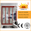 Aluminium Glass Double Panel Sliding Door