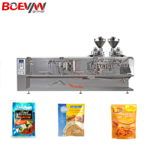 4 Side Seal Spice Powder Sachet Packing Machine
