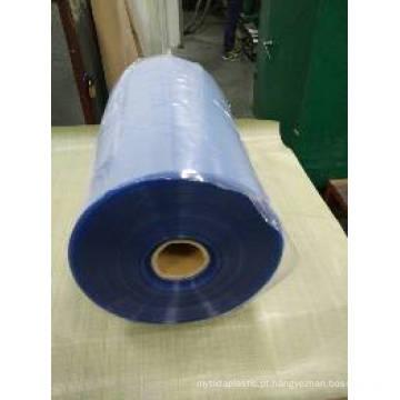 Folha de PVC duro transparente para capa de ligação