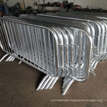 Galvanized or Painted White Spectator Controlled Barriers for Qatar