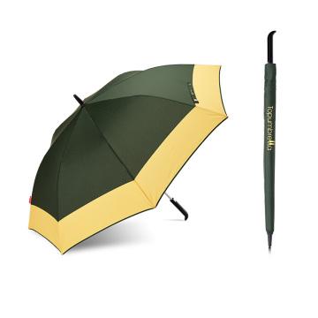 En gros automatique ouvert parapluie de golf en plein air personnalisé coupe-vent avec impression de logo