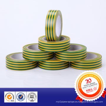 Una cinta de aislamiento de PVC de grado