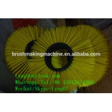 machine automatique de brosse de balayeuse de commande numérique par ordinateur / brosse de balayage de route faisant pour le nettoyage de plancher