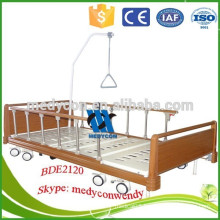Adjustable electric home care bed used hospital bed