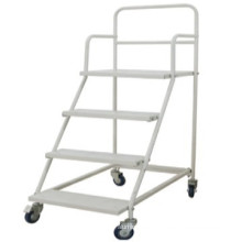 Powder coating,Pb-free and UV resistance platform hand truck/Stainless Mobile Weighing Pallet Cart/Logistic cart