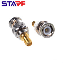 RF Straight Adapter SMA Female to BNC Male Adapter
