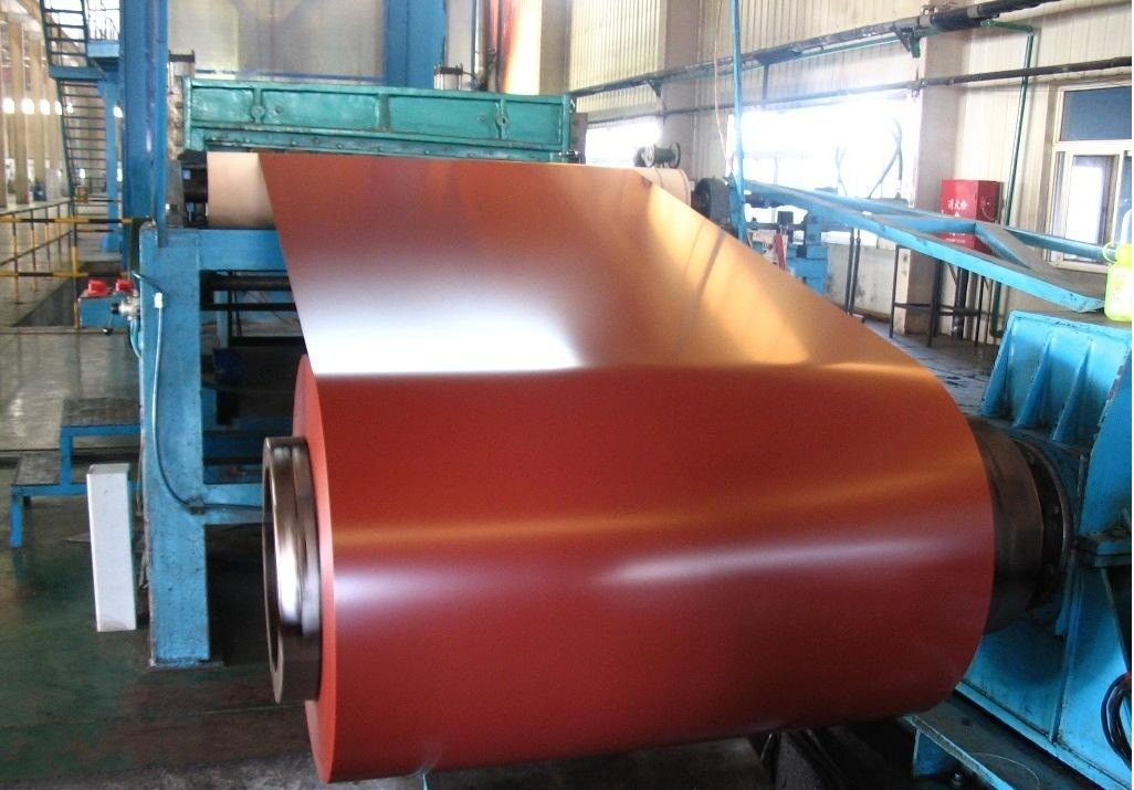 color coated metal roofing steel coils