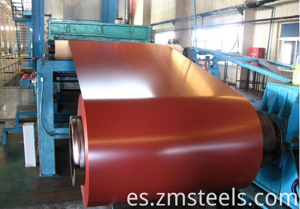 building material zin coated coil