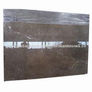 Italy Pisa Gray Marble Slab, Polished, in Natural Gray, with Few Random White Veins, Popularly Sold