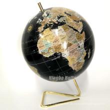 Kleine dekorative Papier-Weltkugel zum Verkauf