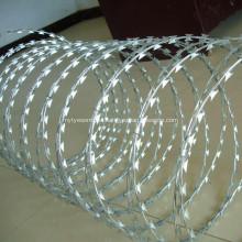 Hot Dipped Galvanized Concertina Razor Wire BTO-22