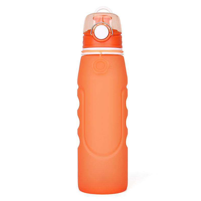 Bpa Free Sport Water Bottle Portable Collapsible Foldable New Design