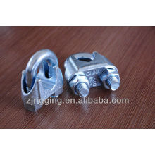 US Type galvanisé Clip Wire Rope