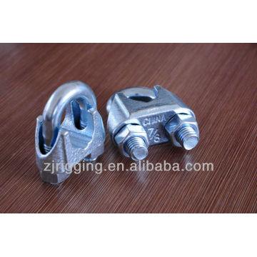 EUA tipo galvanizado grampo de cabo de aço