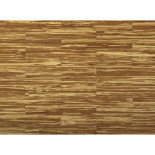 Plancher en bambou d'intérieur de structure tissée par brin de tigre rayures