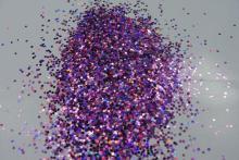 Блеск светло фиолетовый лазер
