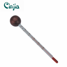 Hot Selling Household Glass Red Wine Thermometer