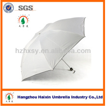 Fábrica de guarda-chuva de proteção UV de promoção de 3 dobras na China