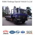 Camión de plataforma plana Best Seller de 7.5 m para el transporte