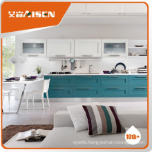Fine appearance solid solid wood kitchen cabinets