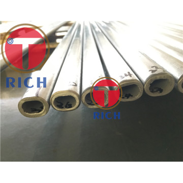 Flat Sided Elliptical Welded Stainless Steel Oval Tube