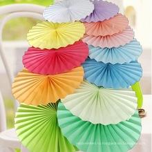 Китай Оптовая Flowerstissue вентилятор бумажного для дома украшение