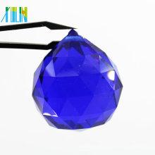 La venta al por mayor de la fábrica de los accesorios de la máquina cortó las piezas cristalinas talladas de cristal de la lámpara de las piezas ligeras para la decoración de la boda