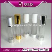 15ml 20ml 30ml 50ml 100ml 200ml Airless Pump Bottle Aluminum Skincare Bottle For Olive Oil Spray Bottle