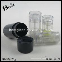 30/50 / 75g, envase del desodorante, envase del desodorante de la forma redonda, envase azul del desodorante