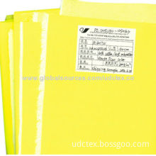 Polycotton Interwoven High-visibility Fluorescent Fabric, Used for Highway/Cleaner Work-wear