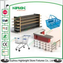 Tienda de abarrotes tienda accesorio del equipo de supermercado