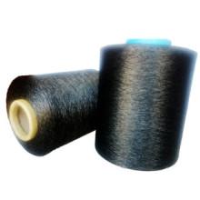 Hilo conductor eléctrico, fibra de carbono eléctricamente conductora, hilo conductor eléctrico