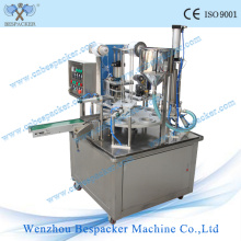 Máquina de llenado automática de la cápsula del café del tipo rotatorio