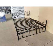 Elegant Design Euramerican Style Metal Steel Single Bed