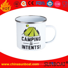 Portable OEM/ODM Enamel Camping Mug