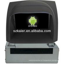 Reproductor de DVD del coche Android System para FORD Fiesta con GPS, Bluetooth, 3G, iPod, juegos, zona dual, control del volante